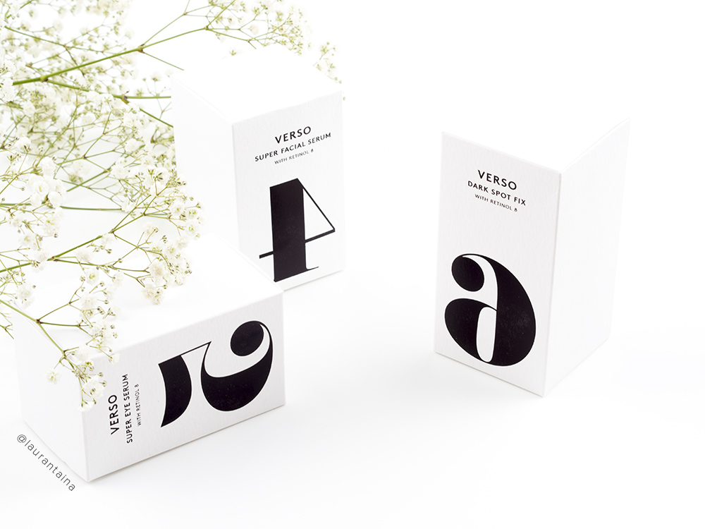 Verso Skincare products