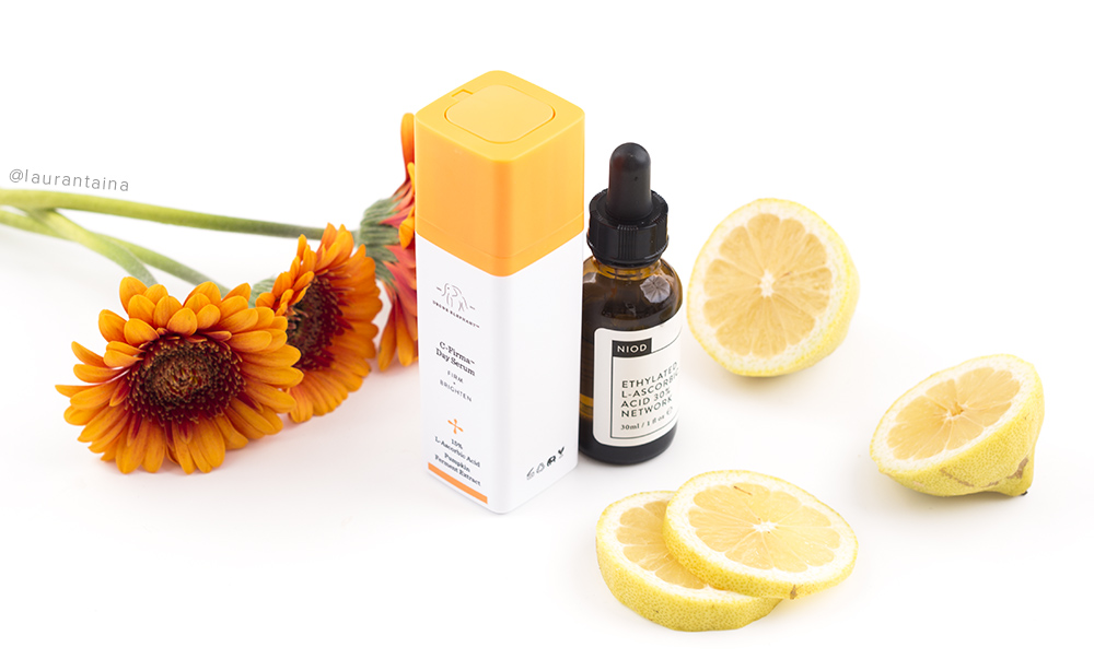 Vitamin C in skincare