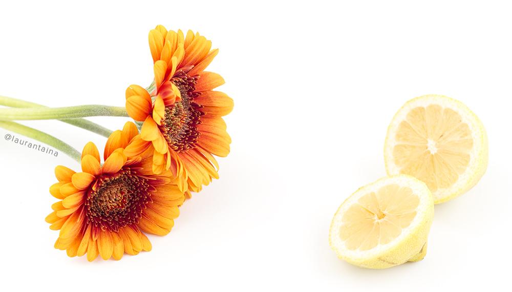 Vitamin C skincare benefits (but never use raw lemon!)