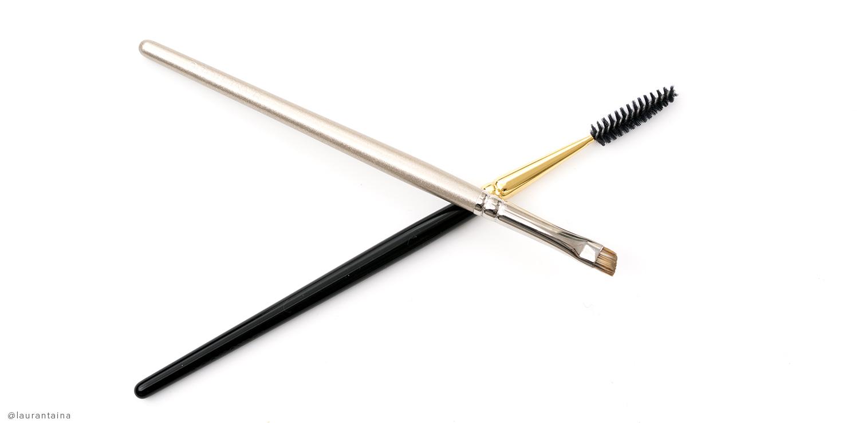 Hakuhodo S194 brush and Hakuhodo B015 brush