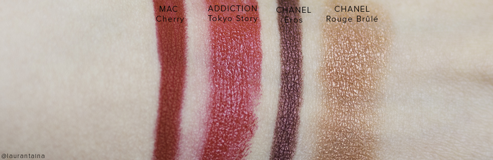 CHANEL Kristen look swatches