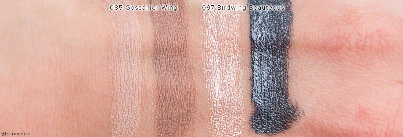 RBR Long-Lasting Duo Cream Eyeshadow Swatches