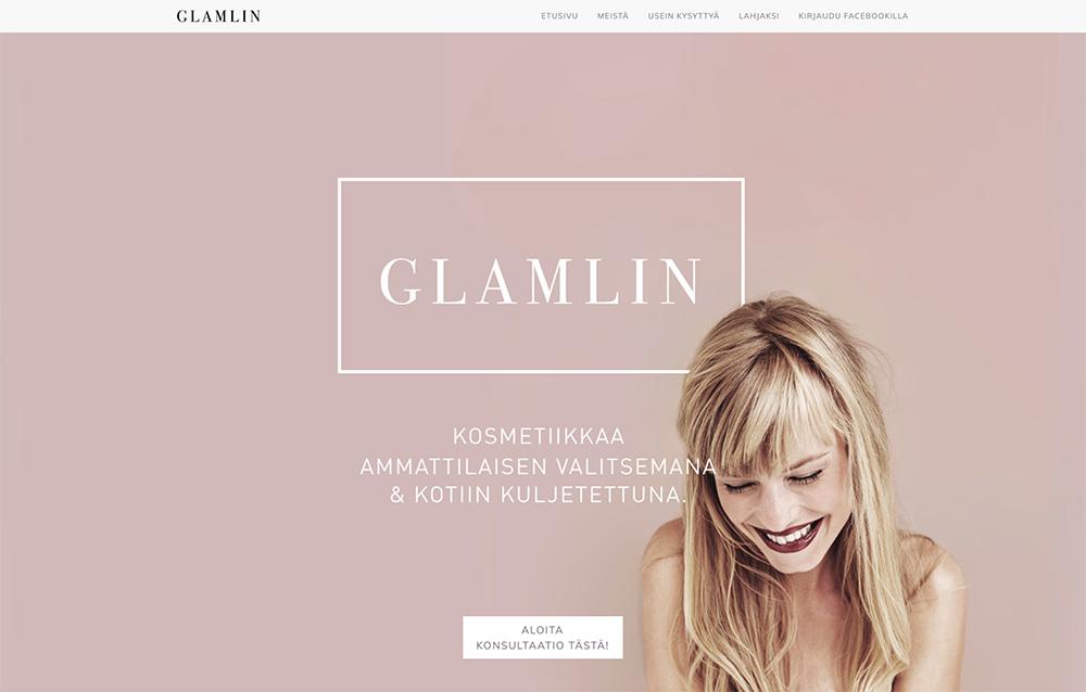 Glamlin beauty box service