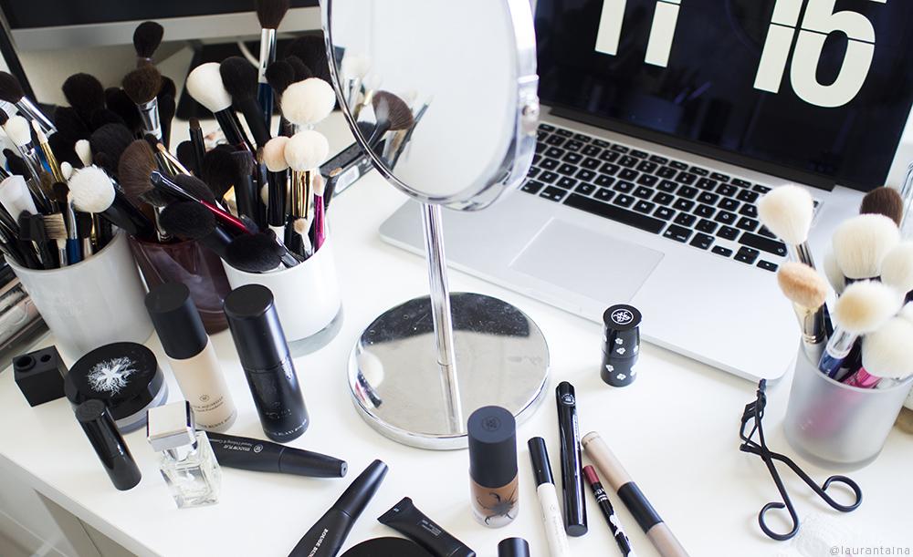 Rouge Bunny Rouge makeup mess