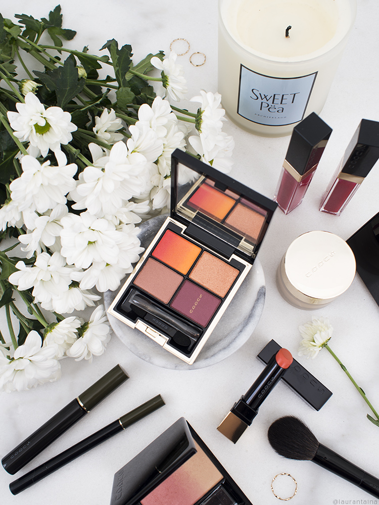 SUQQU UK Exclusive Gradation Couture collection flatlay