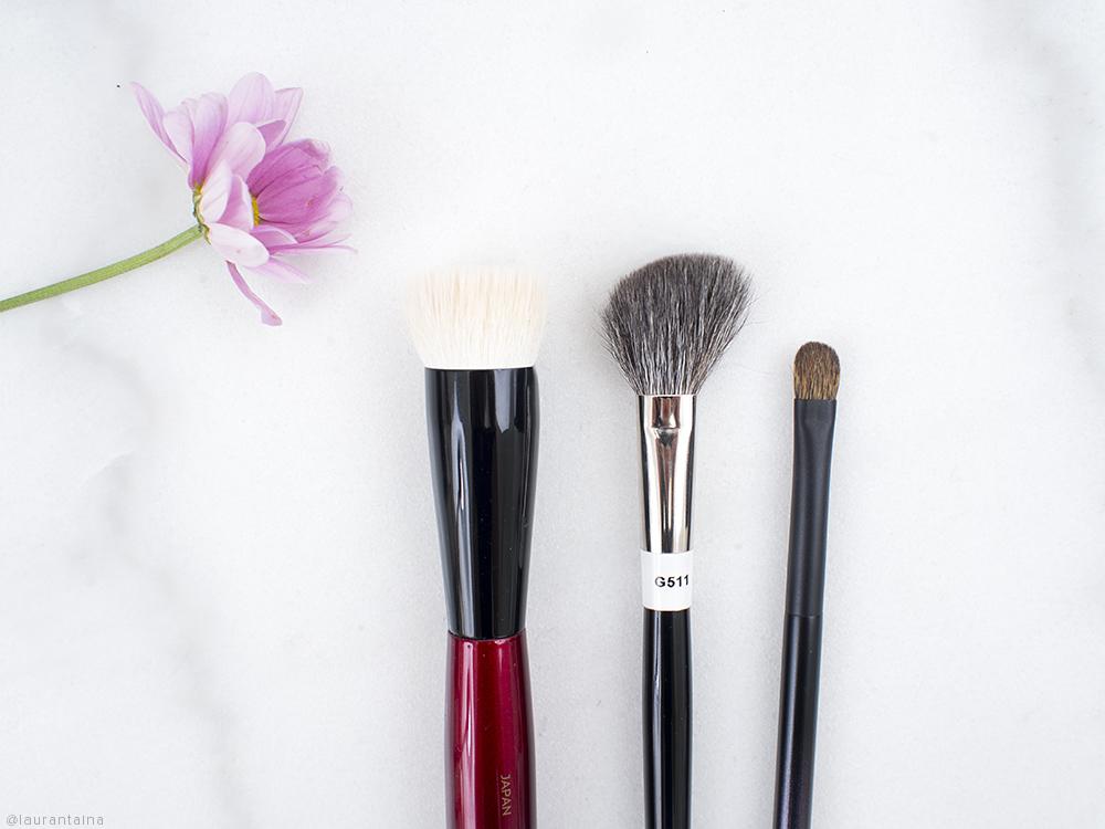 Sonia G Hakuhodo Surratt Brushes