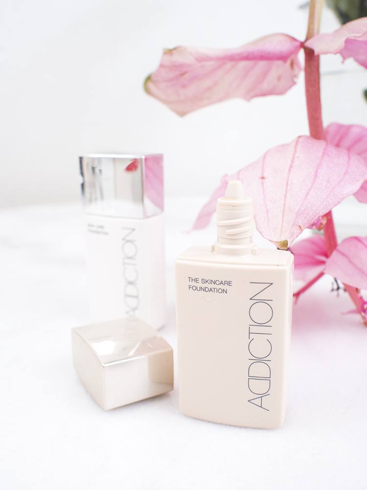 ADDICTION by Ayako Skincare Foundation Review | Laura Loukola Beauty Blog