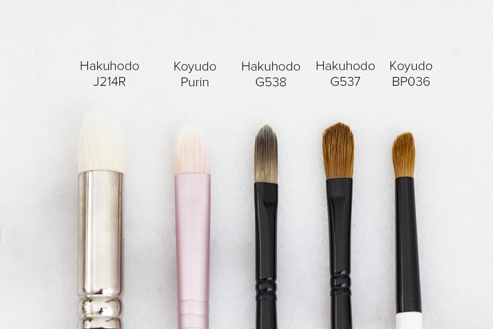 Best Concealer Brushes | Japanese Brushes | Laura Loukola Beauty Blog