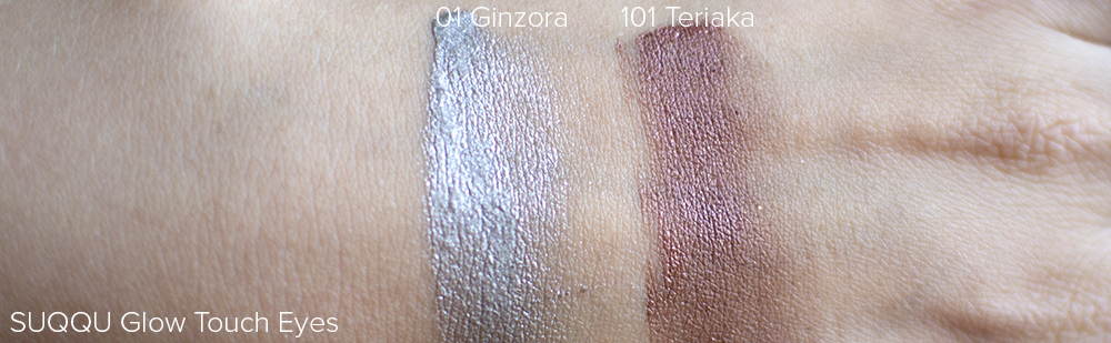 SUQQU Glow Touch Eyes Swatches | Laura Loukola Beauty Blog