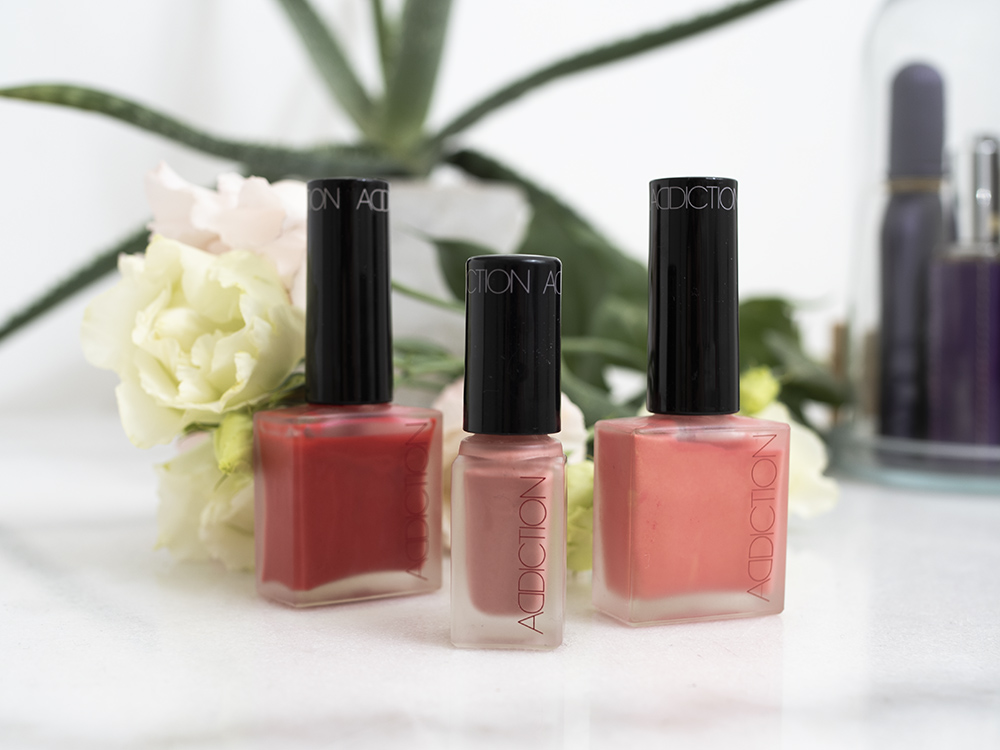 ADDICTION by Ayako Cheek Polishes | Laura Loukola Beauty Blog