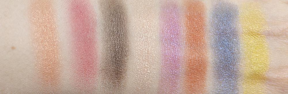 SUQQU UK Urban Prism Eyeshadow Compact Swatches   Laura Loukola Beauty Blog