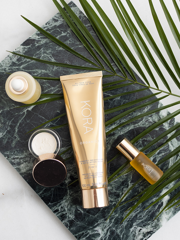 Kora Organics Turmeric Brightening & Exfoliating Mask Review | Laura Loukola Beauty Blog