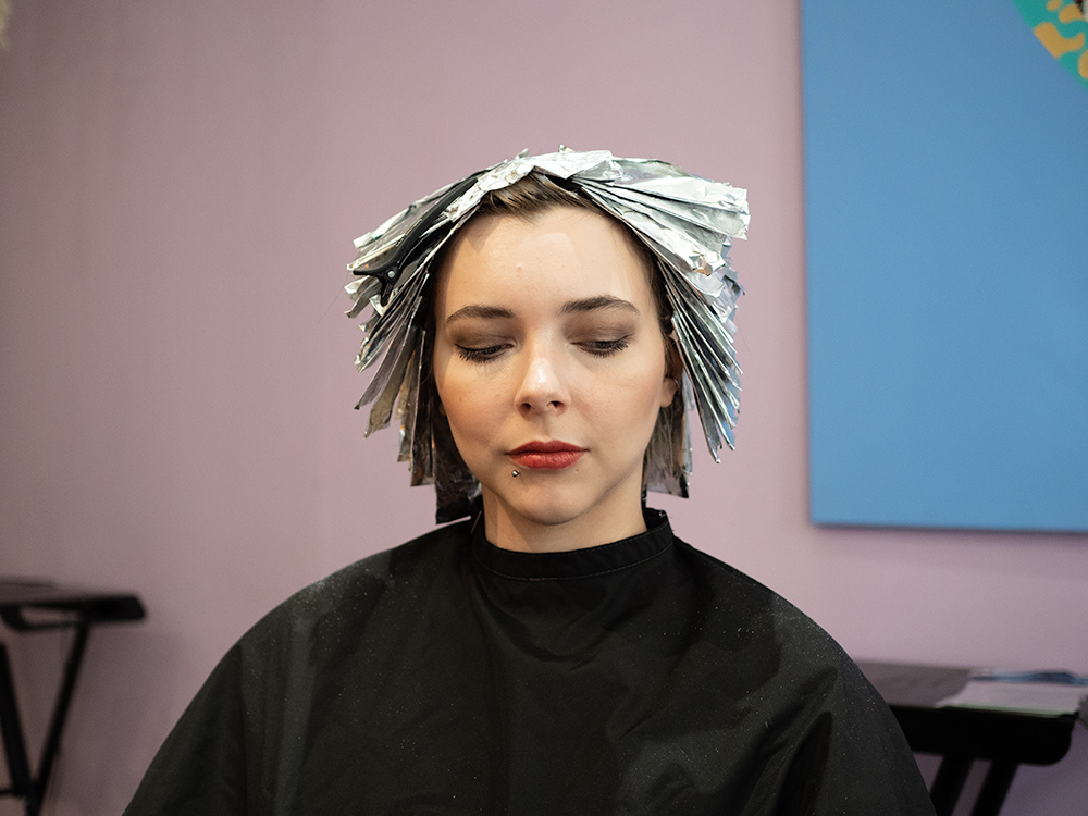 Epic Hair Transformation to Blue Bob | Laura Loukola Beauty Blog & Dandy Hair Salon Helsinki