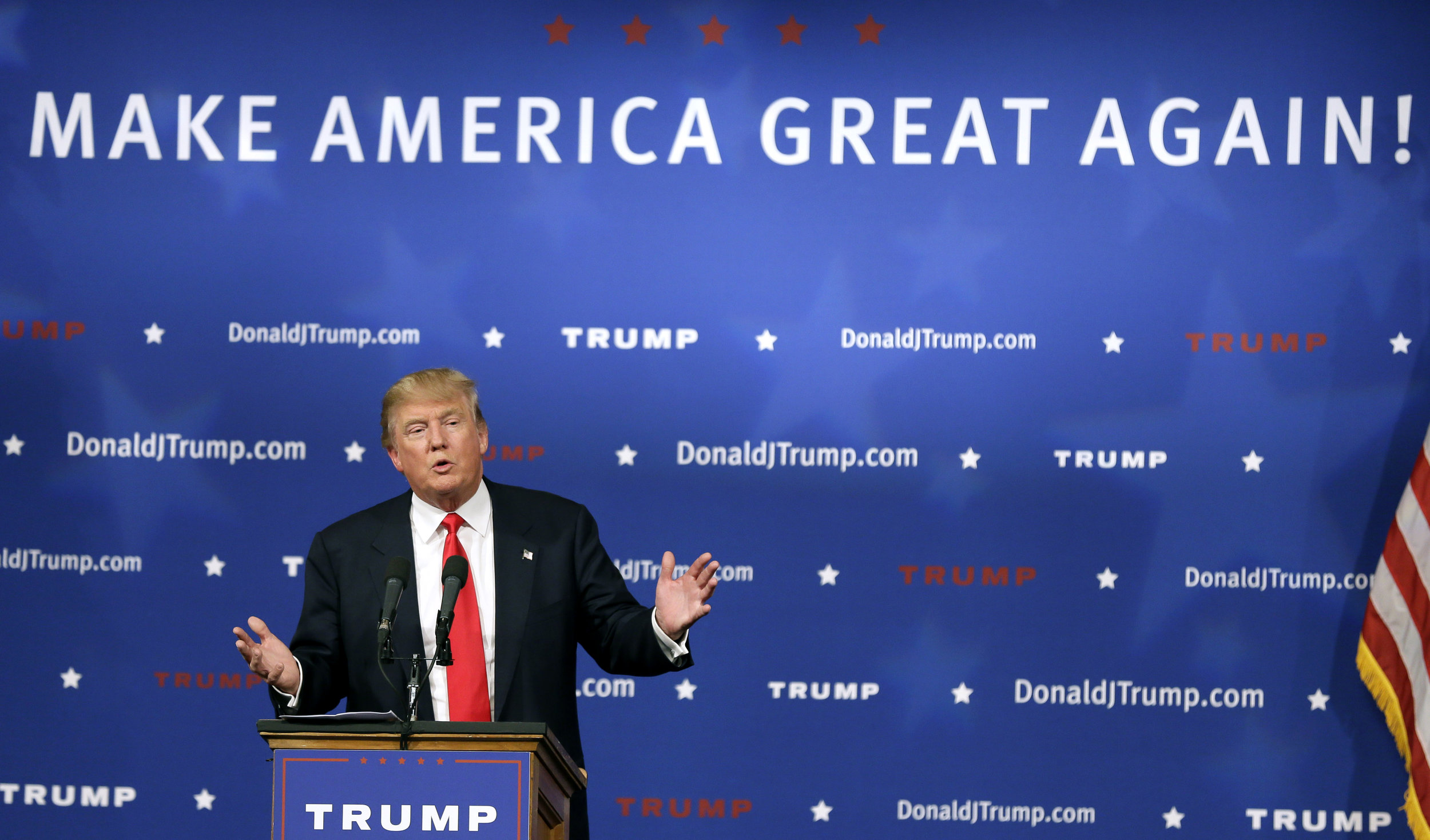 Donald Trump at Rally by Donald Trump Campaign
