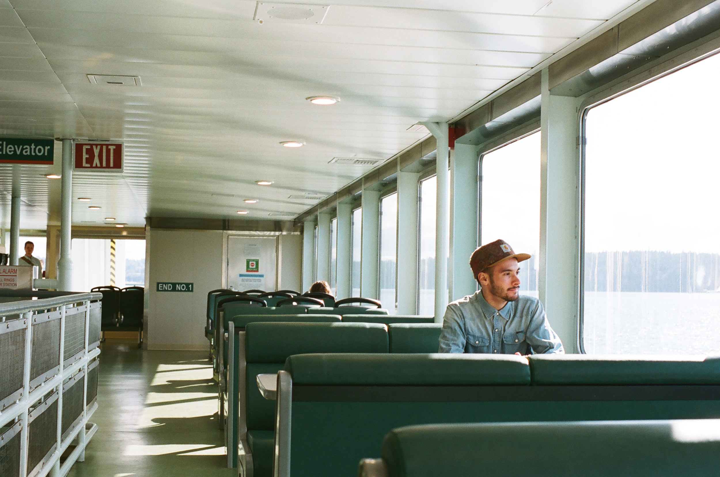 Ferry rides are good for thinking.
