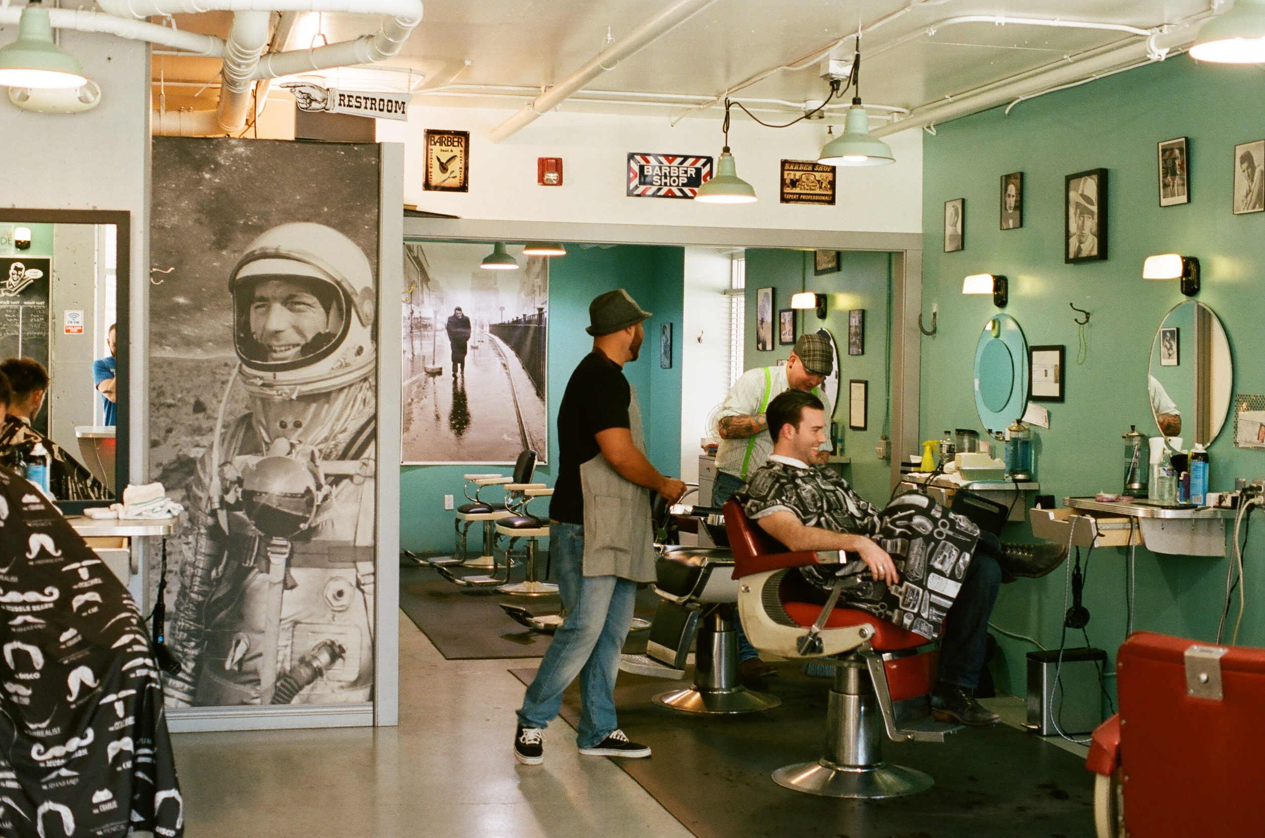 Acme Barber on Denny Way is no joke. It's where a man (or woman) can get their beard trimmed up. Stop in and ask for Josh.