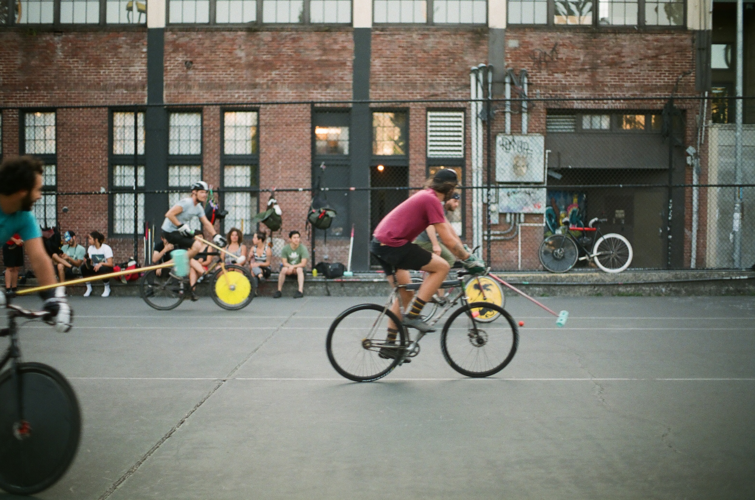 Bike Polo. Is there anything more Seattle?