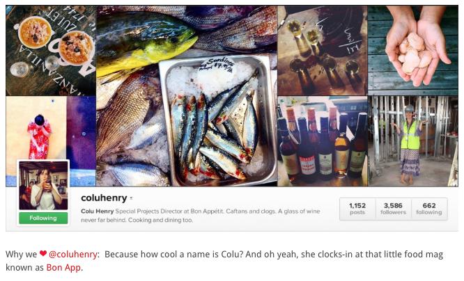 """""""Top 10 Instagram's to follow"""" - Edible San Francisco"""