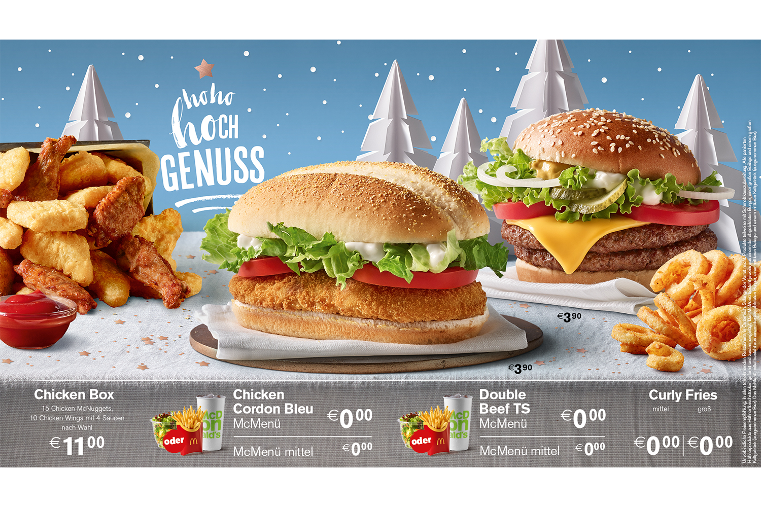 Paper Art for McDonald's christmas campaign via DDB Vienna