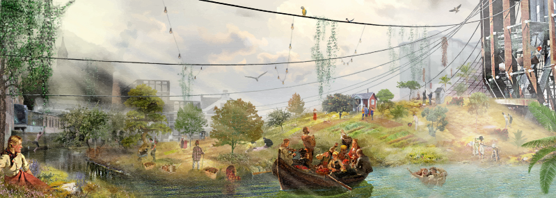 Maximilian Sven Skaara 'The New Romantic Factory in a Post-oil Industrial Age'.