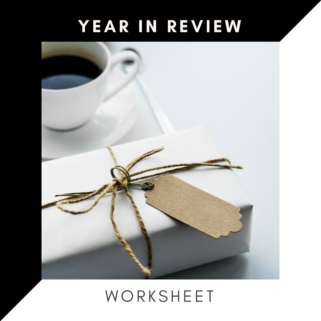 year in review worksheet