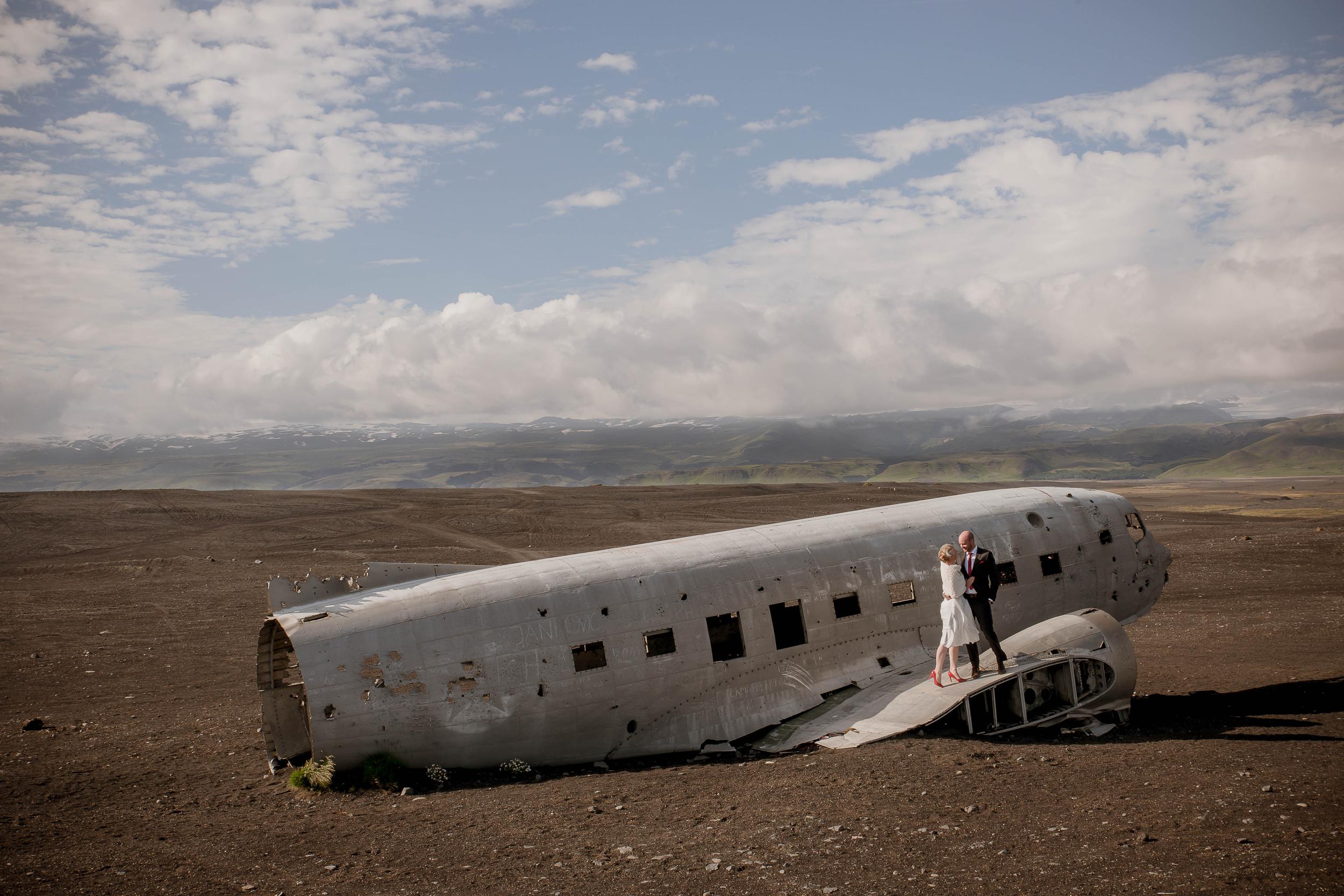 Iceland Crashed Airplane Wedding Photos by Miss Ann-1.jpg