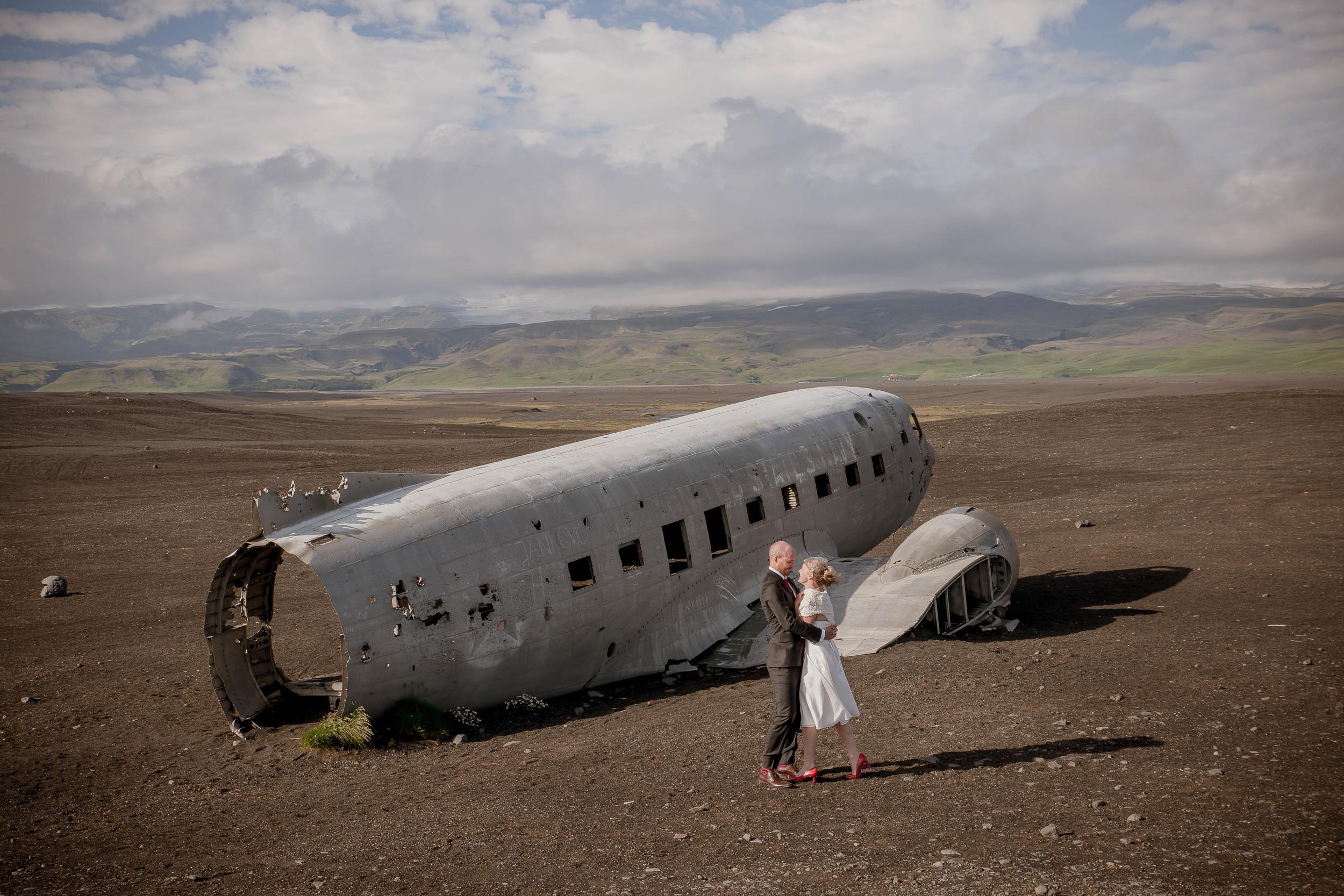Iceland Crashed Airplane Wedding Photos by Miss Ann-3.jpg