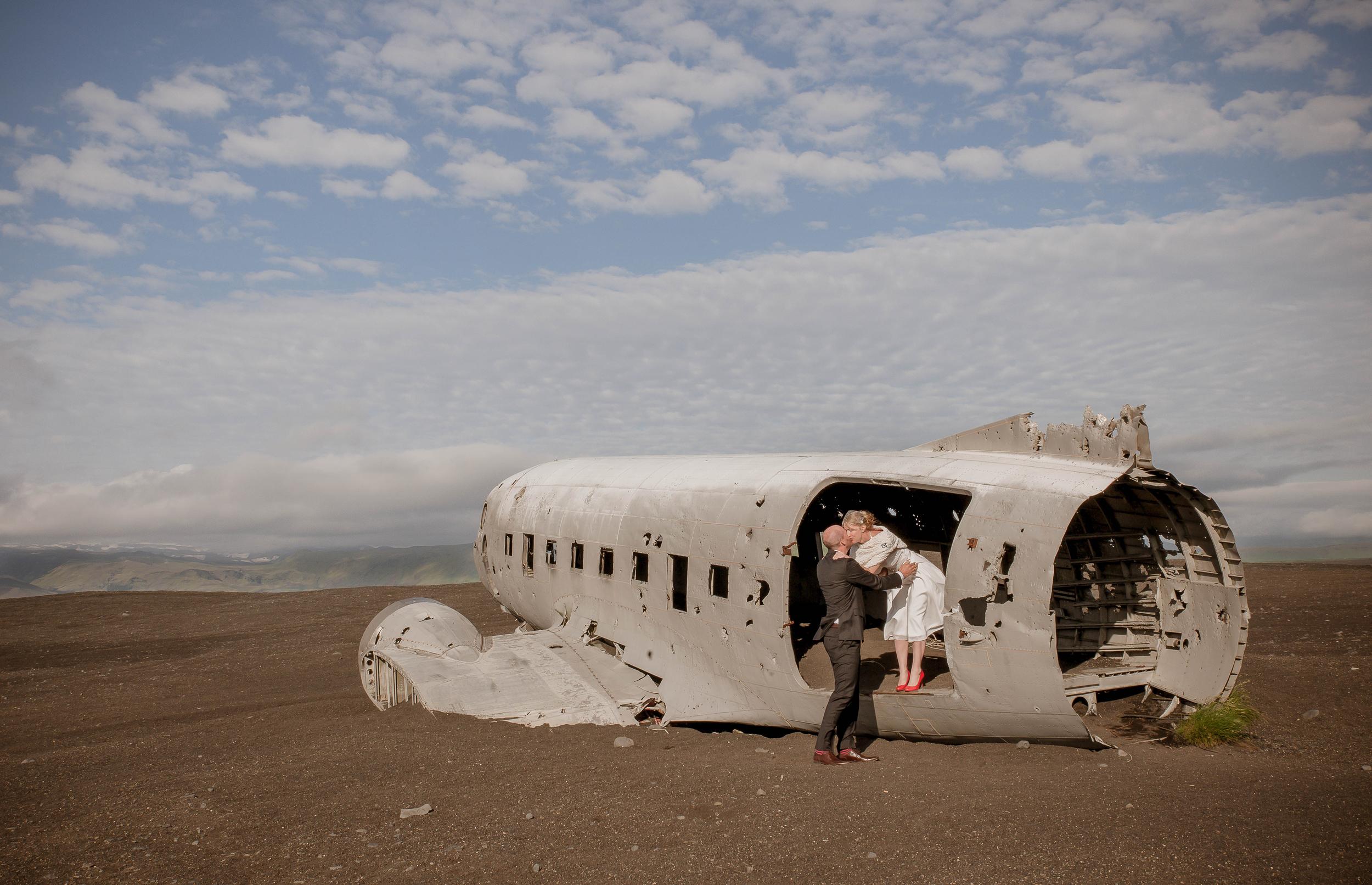 Iceland Crashed Airplane Wedding Photos by Miss Ann-5.jpg