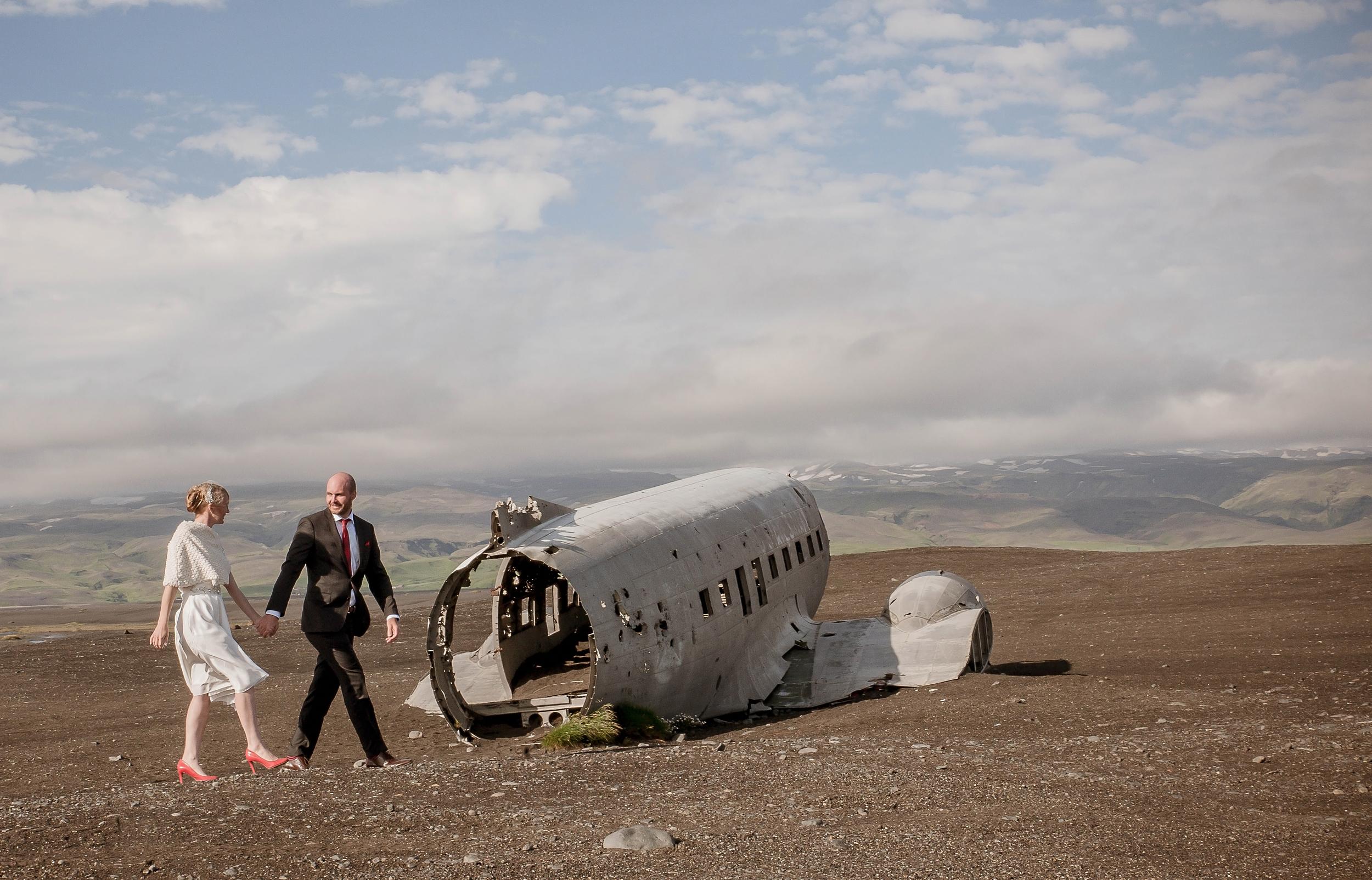 Iceland Crashed Airplane Wedding Photos by Miss Ann-6.jpg