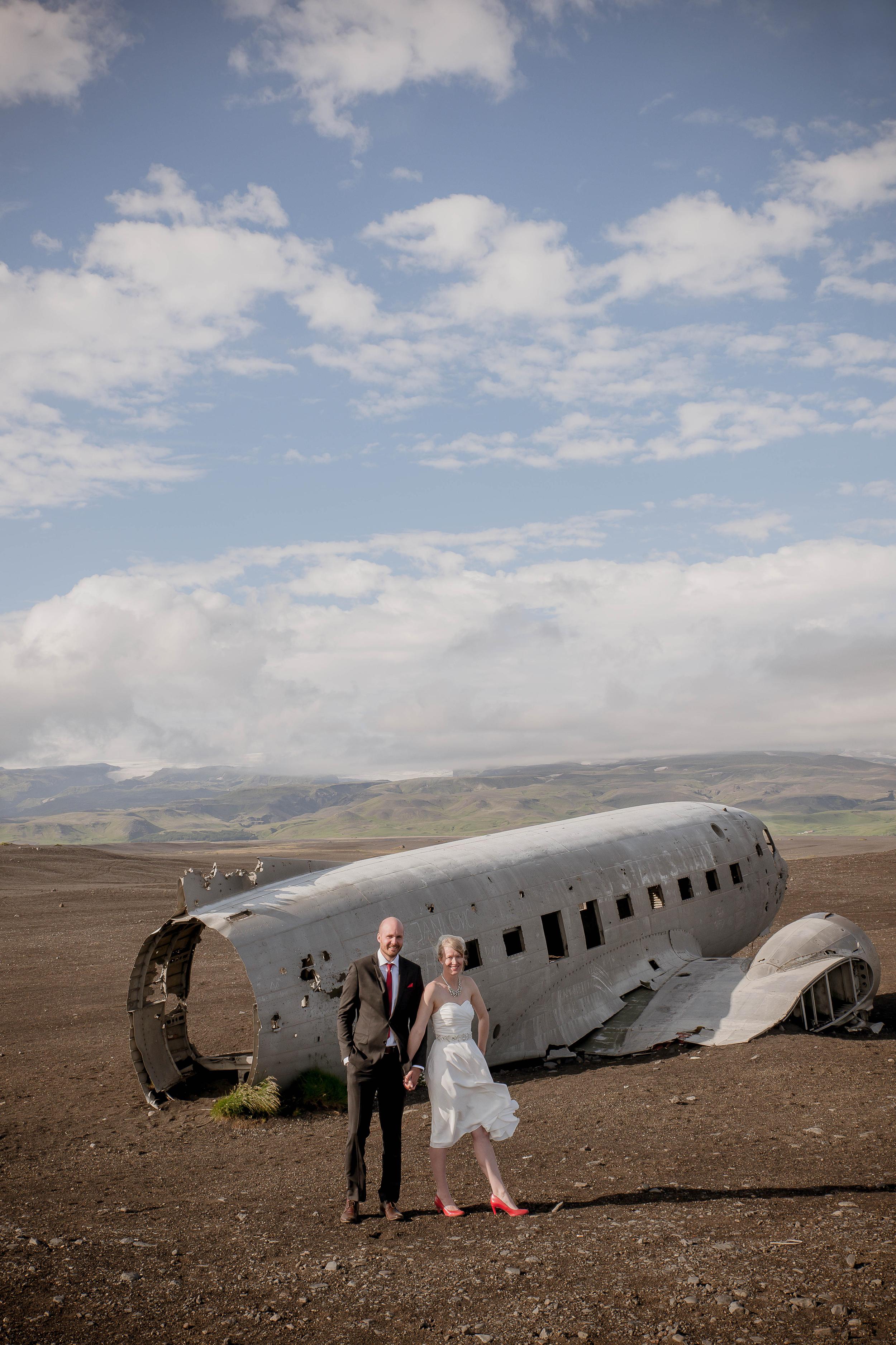 Iceland Crashed Airplane Wedding Photos by Miss Ann-7.jpg