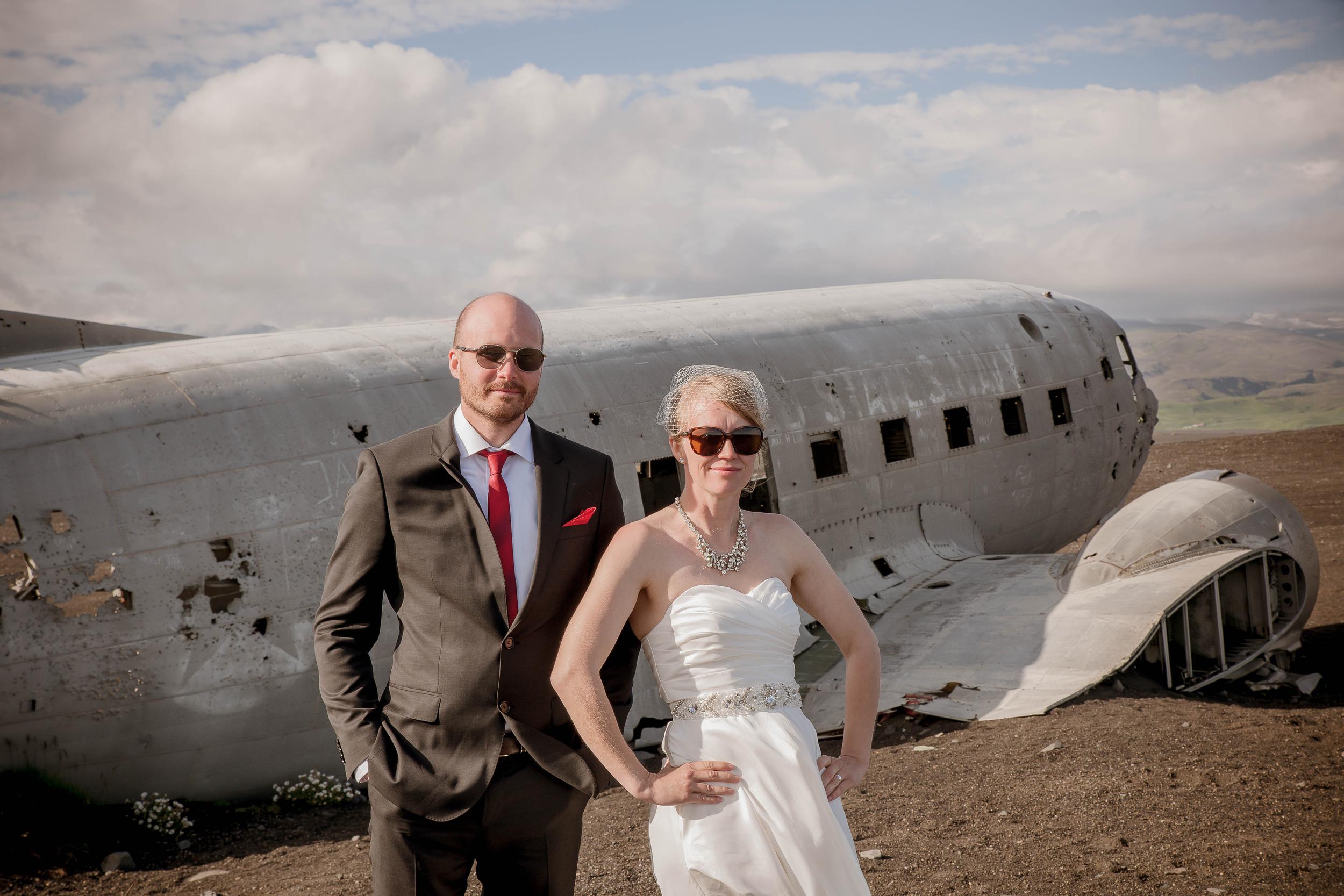 Iceland Crashed Airplane Wedding Photos by Miss Ann-8.jpg