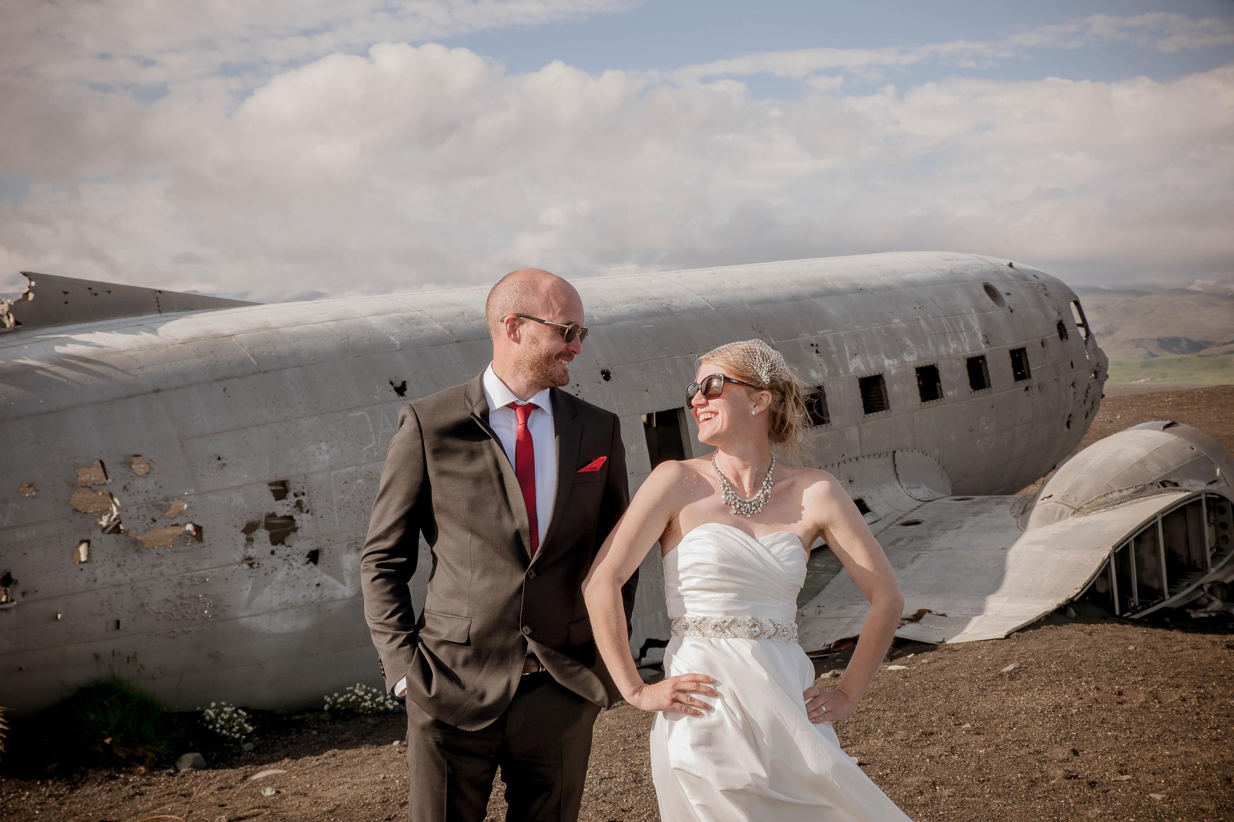 Iceland Crashed Airplane Wedding Photos by Miss Ann-9.jpg