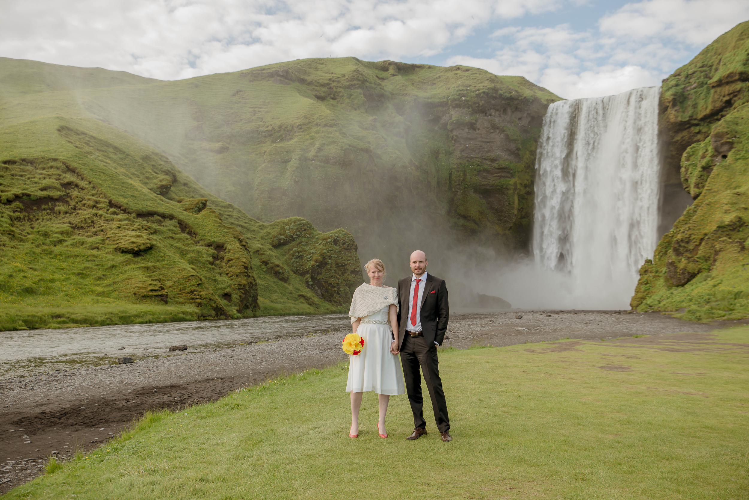 Skogafoss Waterfall Iceland Wedding Photos by Miss Ann-3.jpg