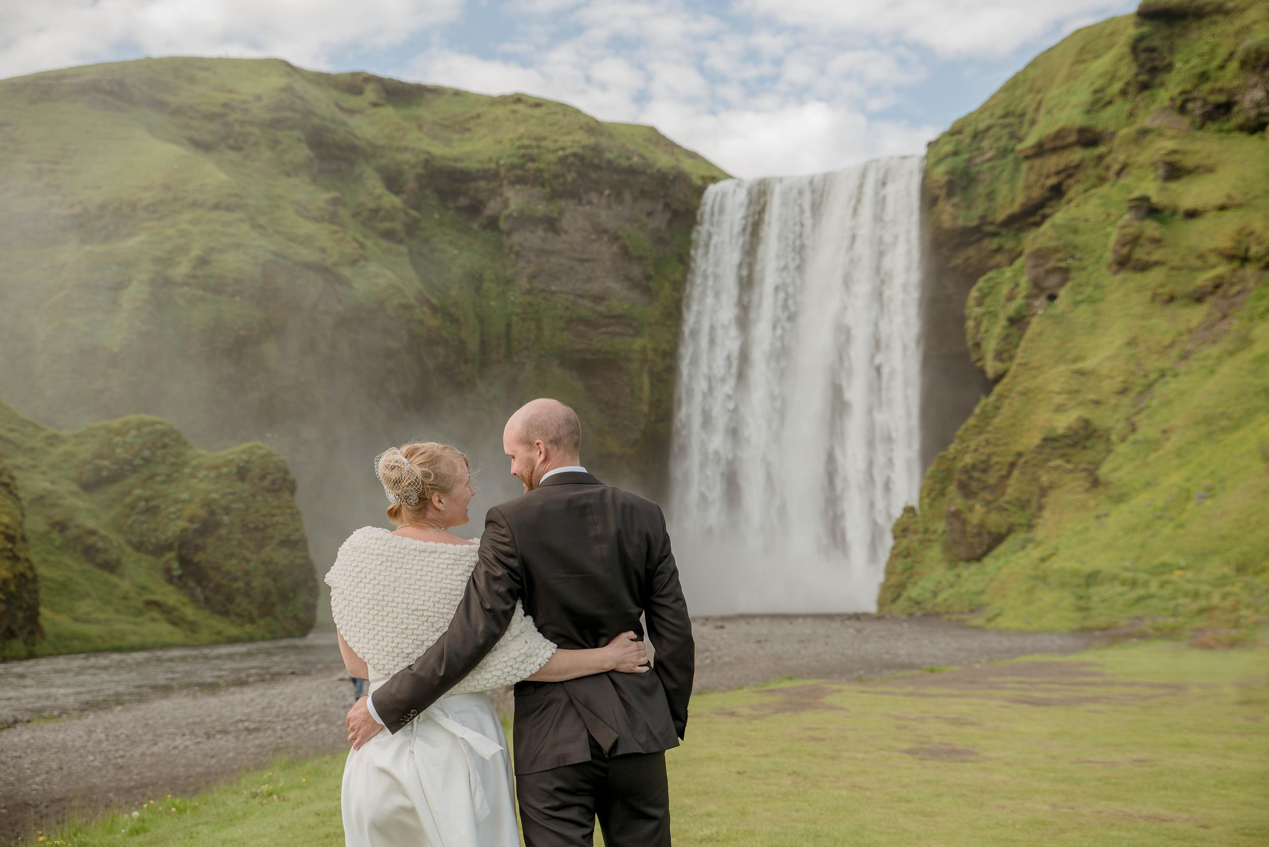 Skogafoss Waterfall Iceland Wedding Photos by Miss Ann-2.jpg