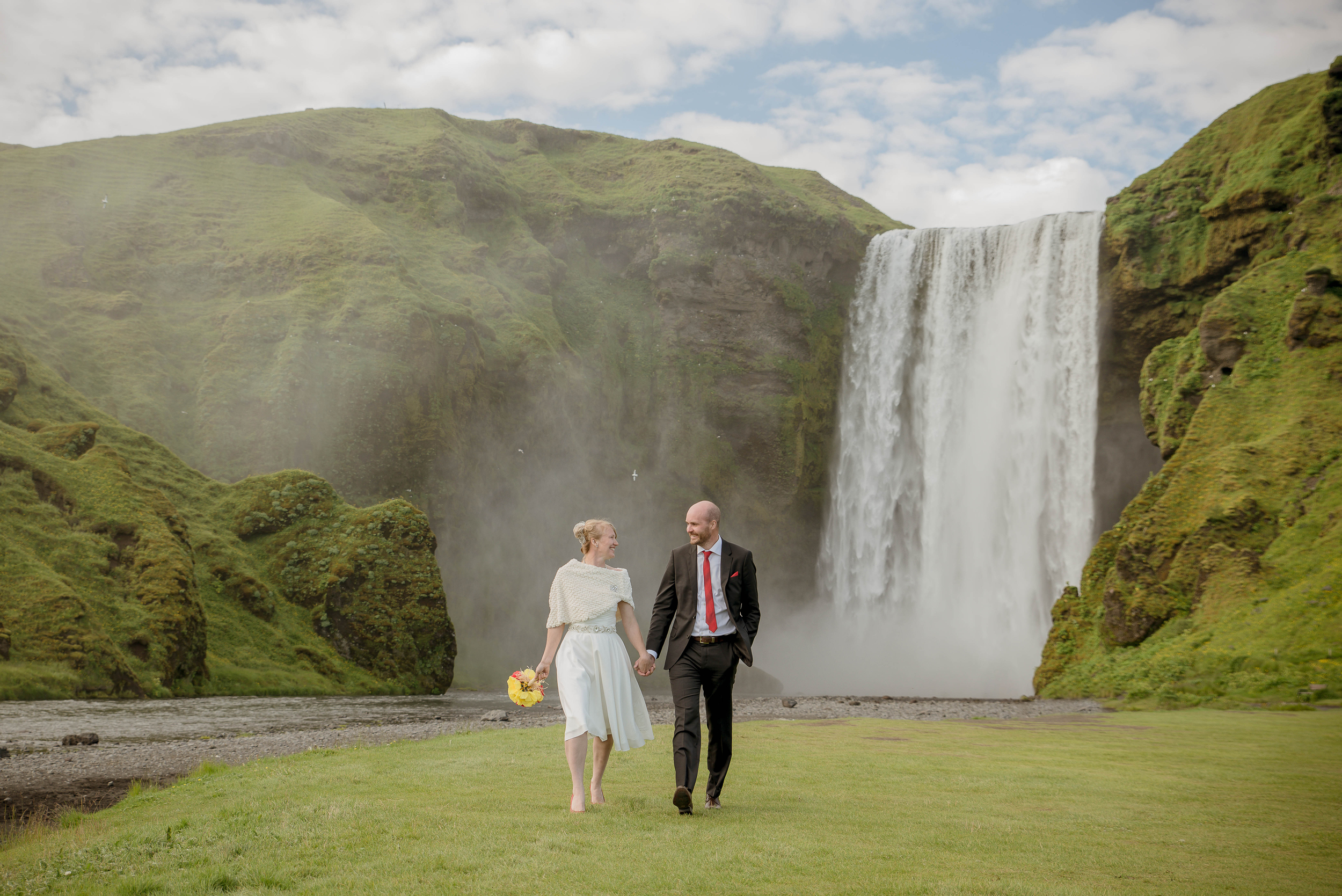 Skogafoss Waterfall Iceland Wedding Photos by Miss Ann-4.jpg