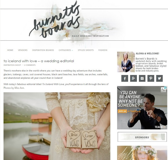 Iceland Wedding Planner Featured on Burnetts Boards.jpg
