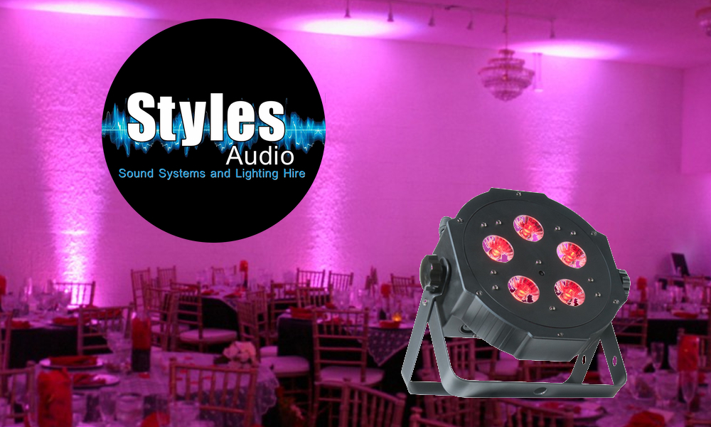 Styles Audio Uplighters