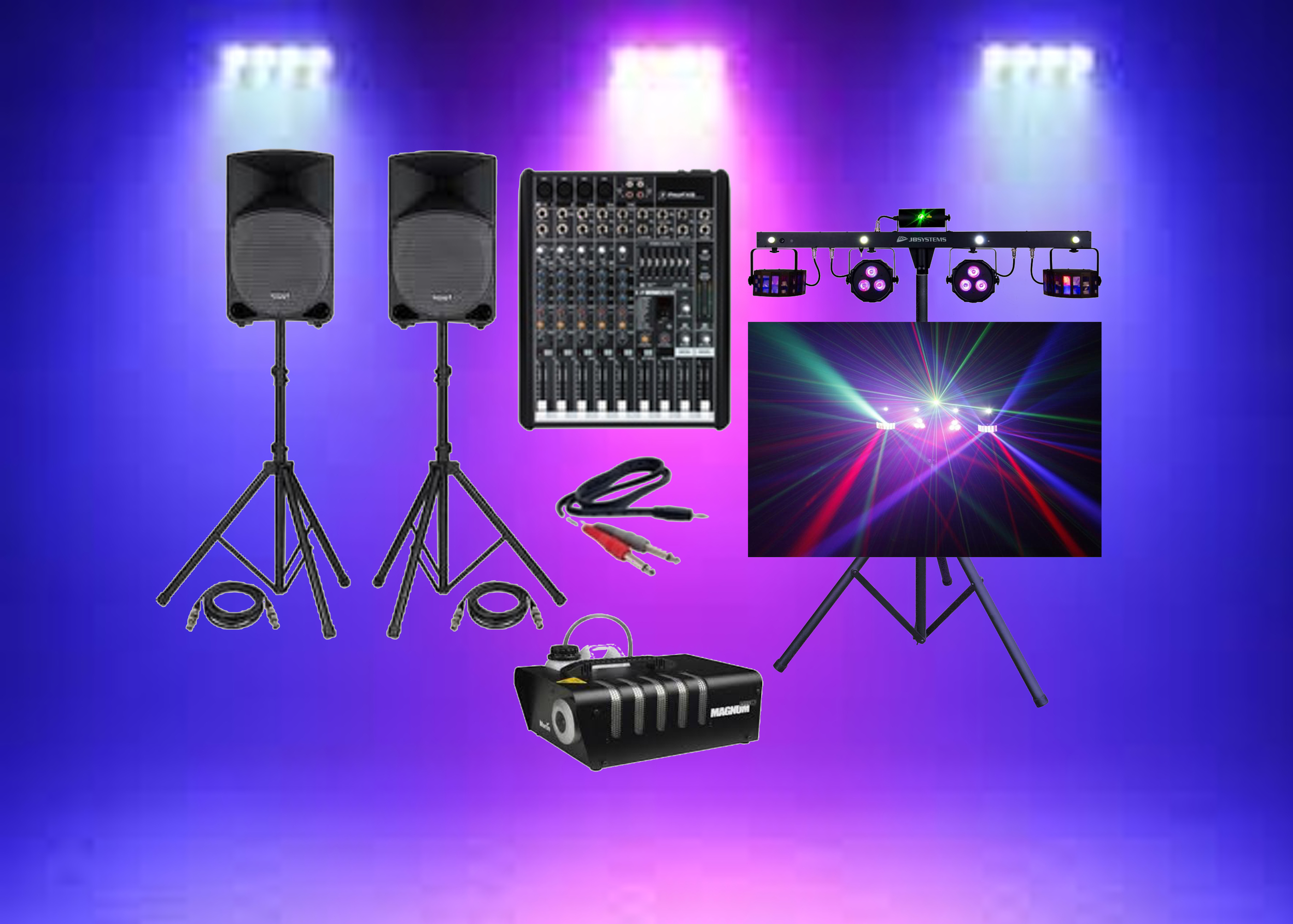 iPod Party & Lighting Package