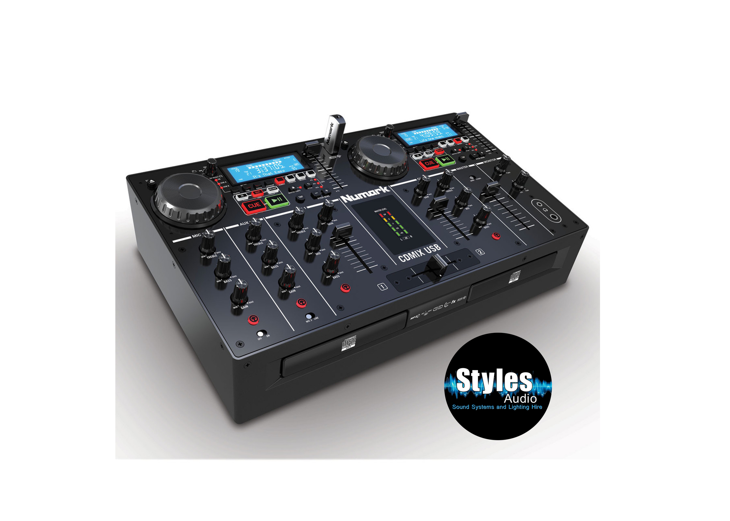 CD/USB Mixer