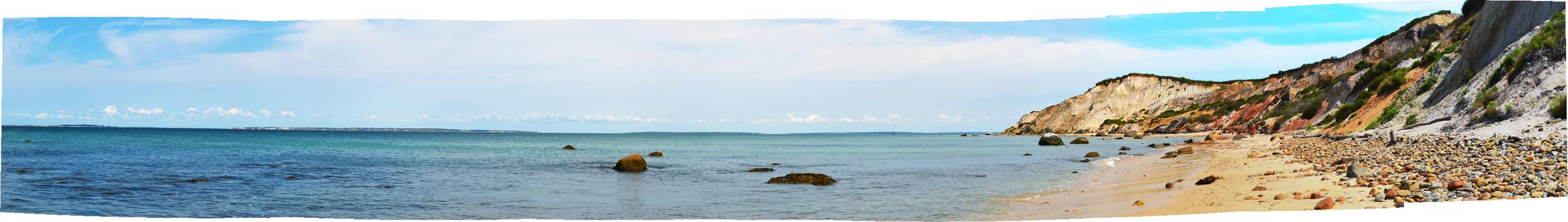 Aquinnah Beach, Martha's Vineyard, MA, August 2014