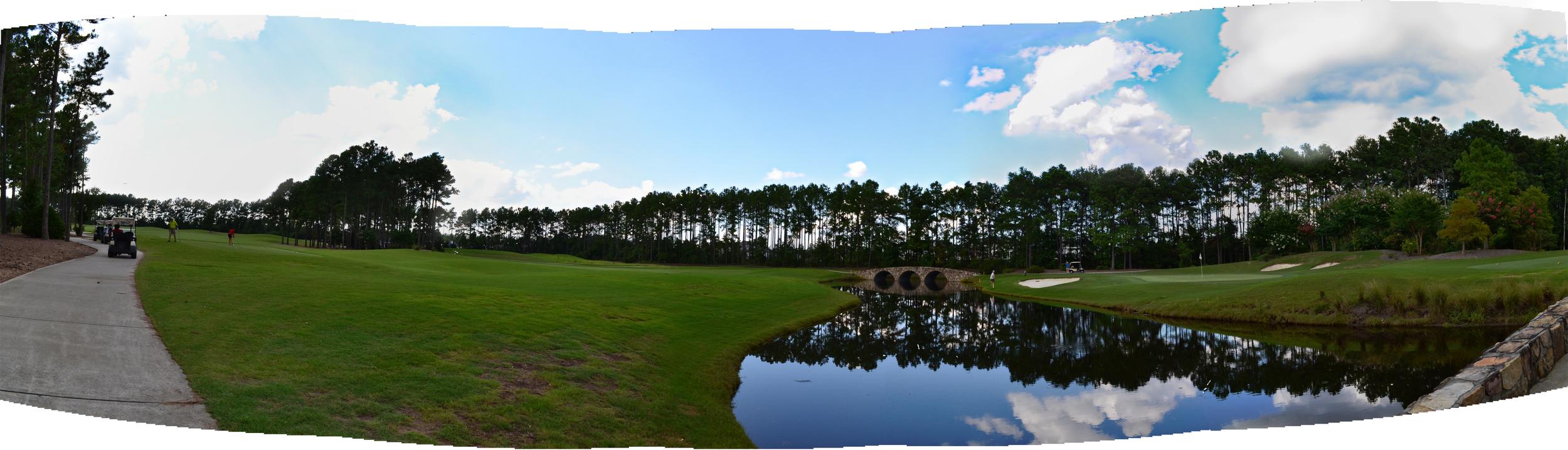 World Tour Golf Course, Myrtle Beach, SC, July 2014