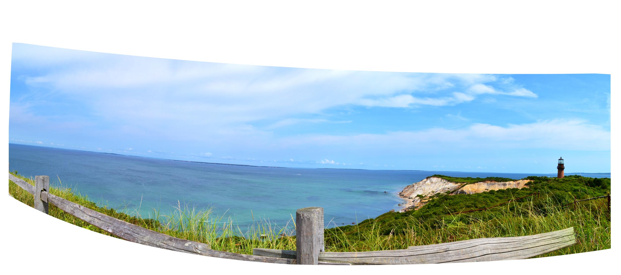 Gay Head Lighthouse, Aquinnah Beach, Martha's Vineyard, MA, August 2014