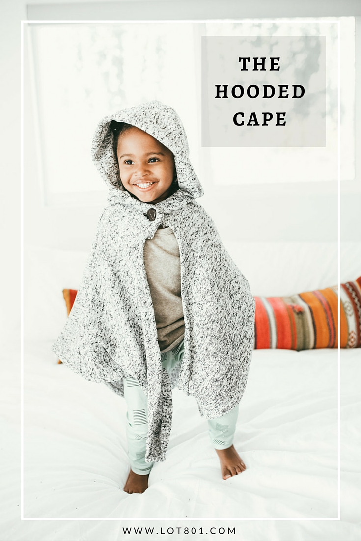 The Hooded Cape - Lot801