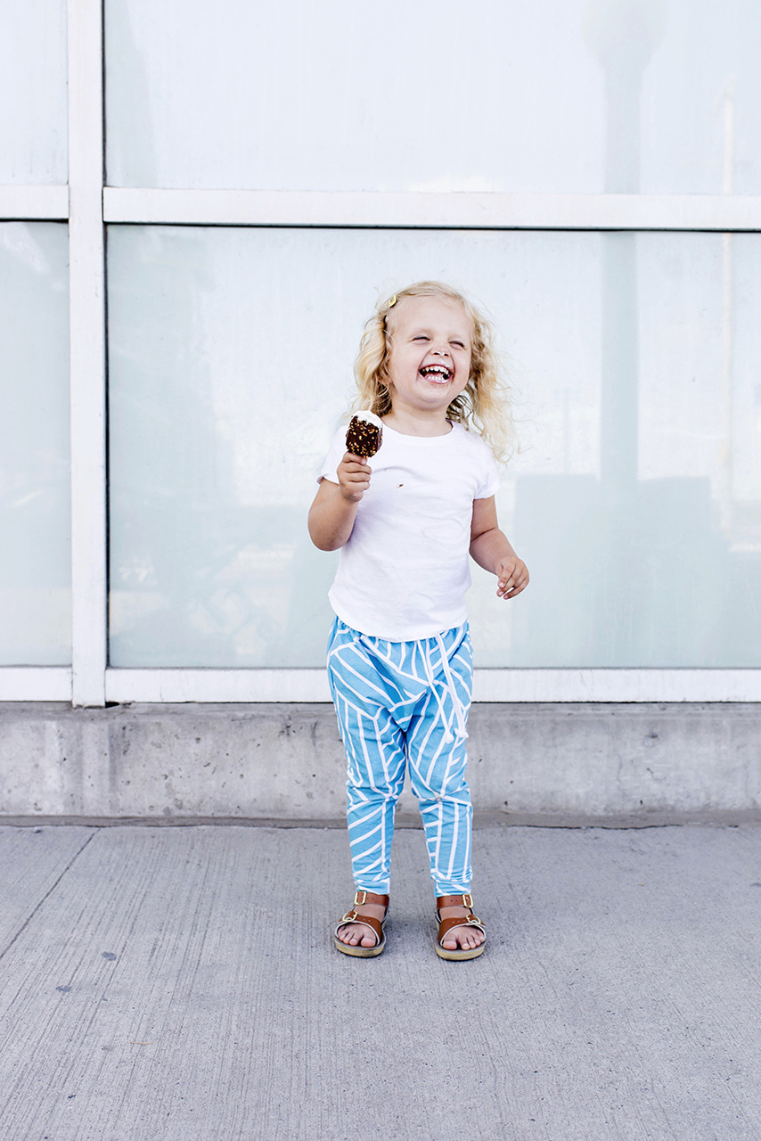 Lot801 baby/toddler harem leggings and joggers in ocean blue