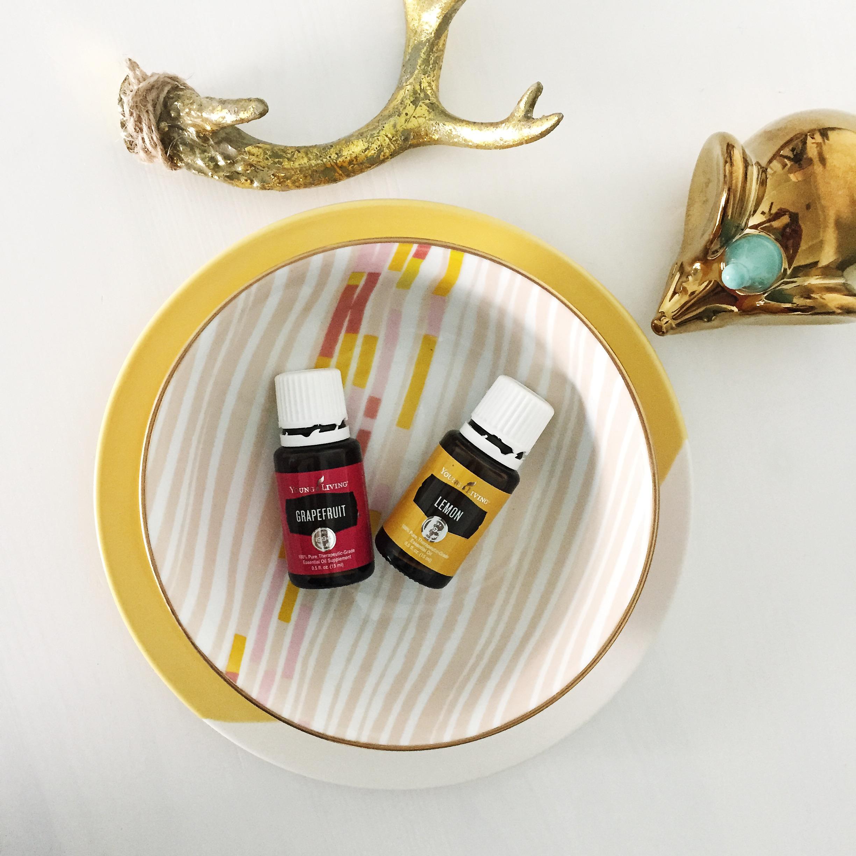 lot801 lemon essential oils blend for moms