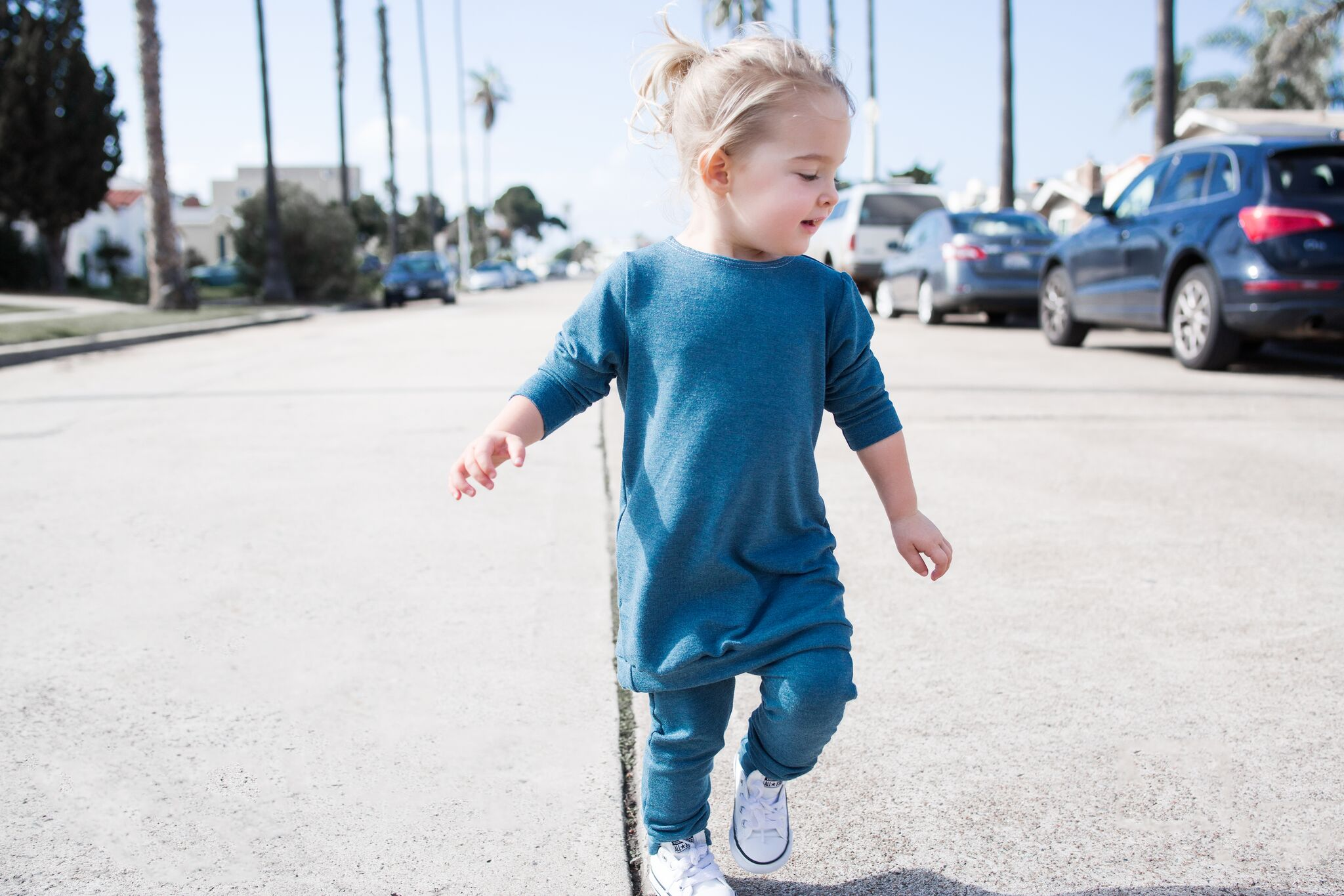 lot801 baby and toddler blue joggers and unisex pullover