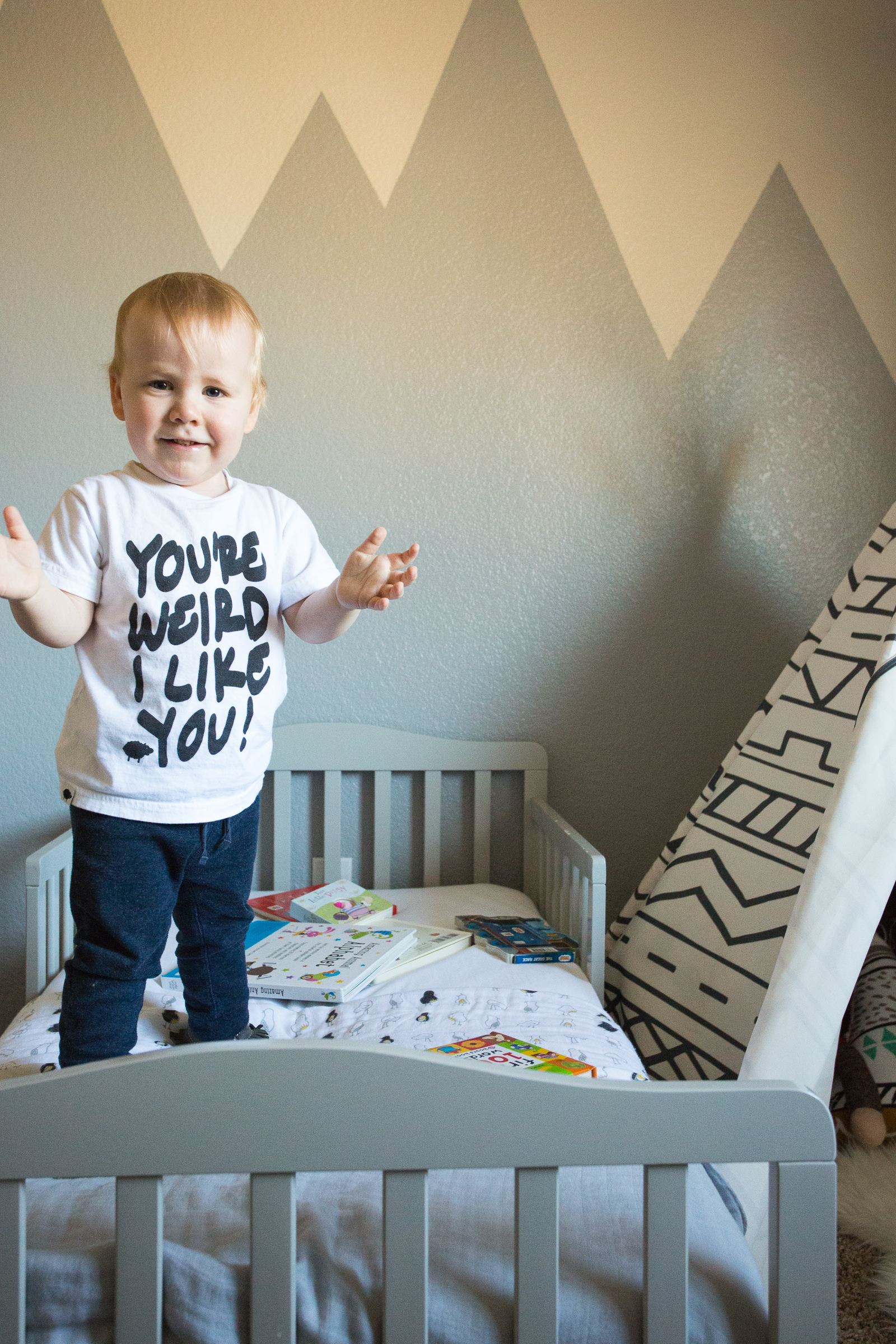 Lot801 baby and toddler graphic tee