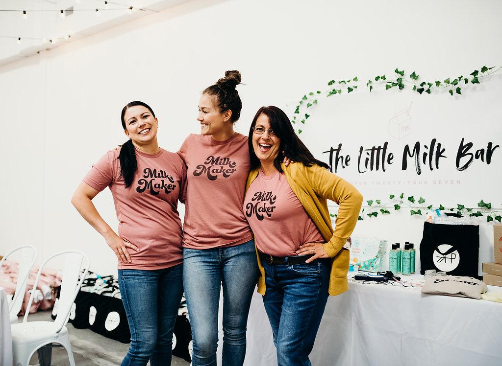 The Little Milk Bar baby shower for women in need