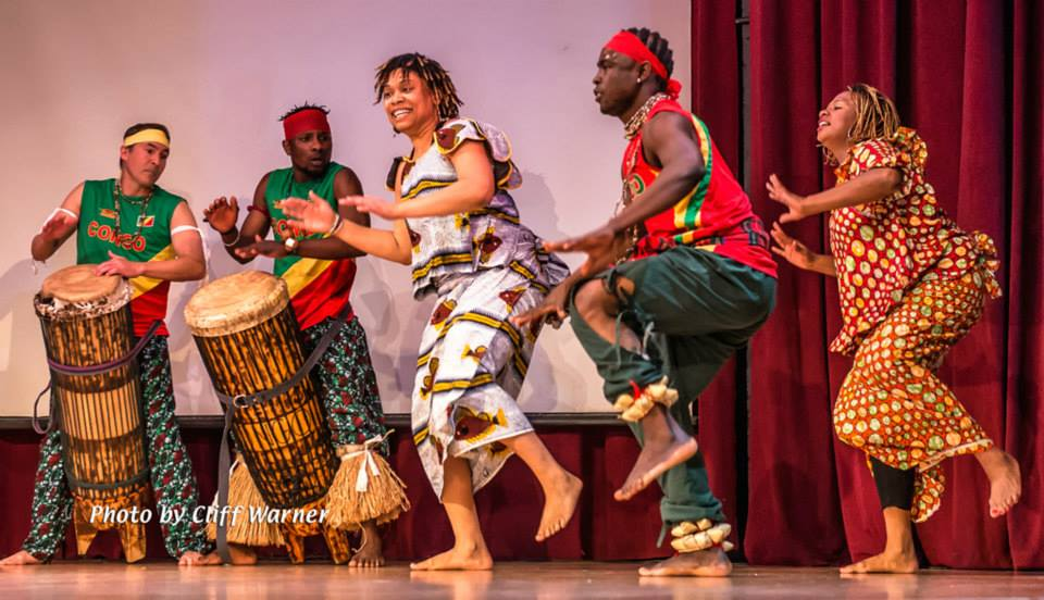 Bitezo bia Kongo performs in The Magic Carpet. Photo by cliff warner