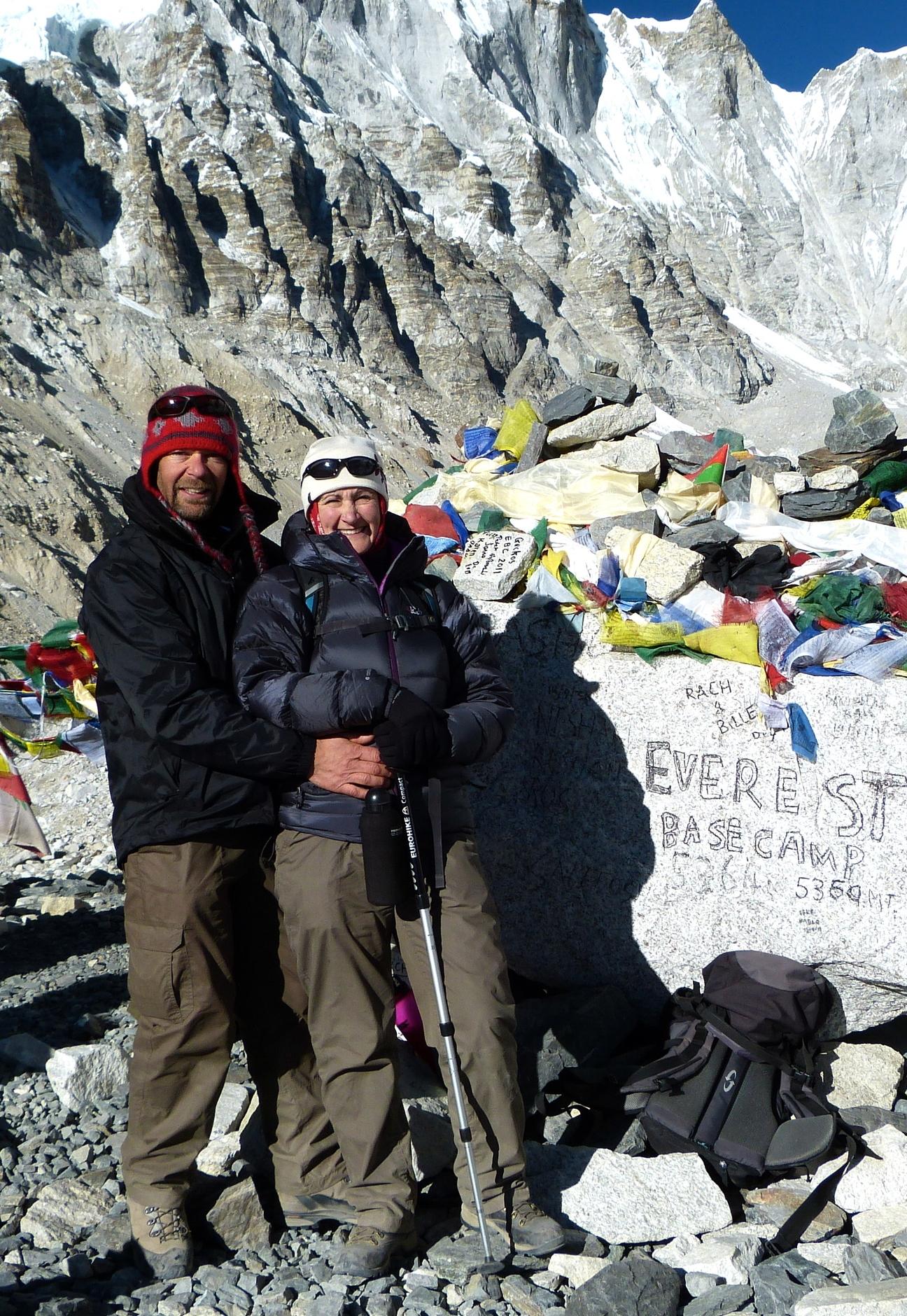 Everest base camp christmas 2011